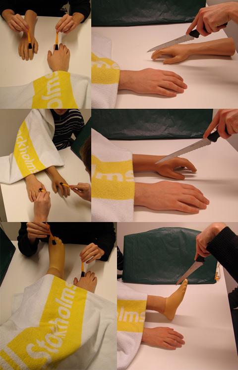 Психологи создали у людей иллюзию трёх рук
