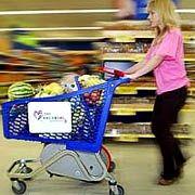 Тележки в супермаркетах сжигают калории покупателей