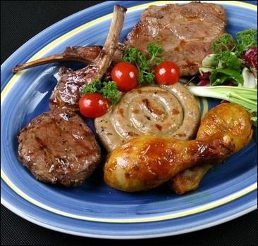 Жирная пища оказывает негативное влияние на мужчин
