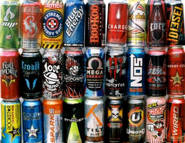 Энергетические напитки вредны для здоровья