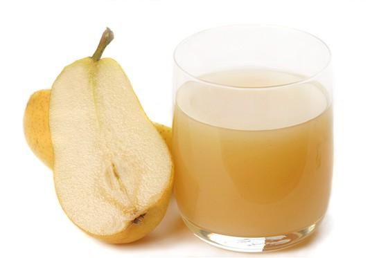 Грушевый сок улучшает работу кишечника